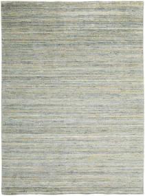 Mazic - Green_Grey Teppich  210X290 Moderner Hellgrau/Lindgrün (Wolle, Indien)