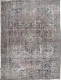 Colored Vintage Teppich  292X375 Echter Moderner Handgeknüpfter Hellgrau/Dunkelgrau Großer (Wolle, Pakistan)