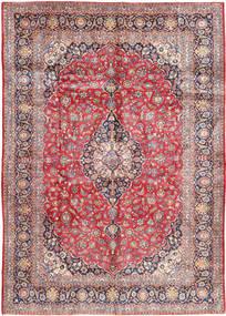 Keshan Teppich  300X433 Echter Orientalischer Handgeknüpfter Rost/Rot/Hellrosa Großer (Wolle, Persien/Iran)