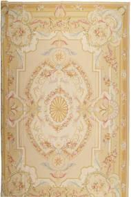 Aubousson Teppich 366X549 Echter Orientalischer Handgewebter Beige/Dunkel Beige Großer (Wolle, China)