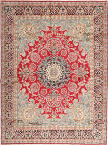 Kerman Teppich  295X400 Echter Orientalischer Handgeknüpfter Hellbraun/Rost/Rot Großer (Wolle, Persien/Iran)