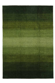 Gabbeh Rainbow - Grün Teppich  240X340 Moderner Dunkelgrün/Olivgrün (Wolle, Indien)