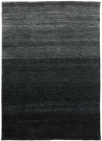 Gabbeh Up To Down Teppich 160X230 Moderner Schwartz/Dunkelgrün (Wolle, Indien)