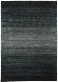 Gabbeh Rainbow - Grau Teppich  160X230 Moderner Schwartz/Dunkelgrau (Wolle, Indien)