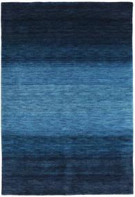 Gabbeh Rainbow - Blau Teppich  160X230 Moderner Dunkelblau/Blau (Wolle, Indien)