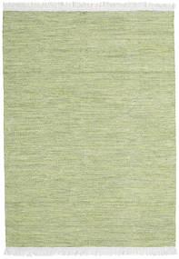Diamond Wolle - Grün Teppich  140X200 Echter Moderner Handgewebter Hell Grün (Wolle, Indien)