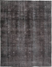 Colored Vintage Teppich  268X353 Echter Moderner Handgeknüpfter Dunkelgrau/Schwartz Großer (Wolle, Pakistan)