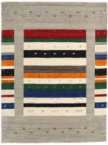 Loribaf Loom Designer Teppich  210X290 Moderner Hellgrau/Dunkelgrau (Wolle, Indien)