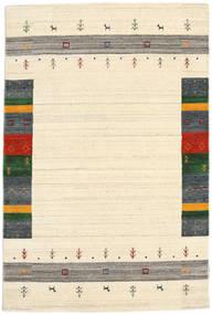 Loribaf Loom Designer - Beige Teppich 120X180 Moderner Beige/Dunkel Beige (Wolle, Indien)