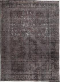 Colored Vintage Teppich  273X331 Echter Moderner Handgeknüpfter Schwartz/Braun Großer (Wolle, Pakistan)