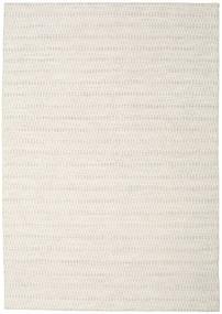 Kelim Long Stitch - Beige Teppich  240X340 Echter Moderner Handgewebter Hellgrau/Beige (Wolle, Indien)