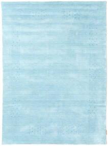 Loribaf Loom Beta - Hellblau Teppich  140X200 Moderner Hellblau (Wolle, Indien)
