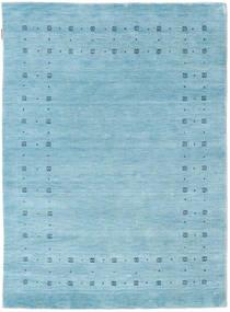 Loribaf Loom Delta - Hellblau Teppich  140X200 Moderner Hellblau (Wolle, Indien)