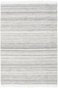 Diamond Wolle - Grau Teppich  160X230 Echter Moderner Handgewebter Hellgrau/Weiß/Creme (Wolle, Indien)