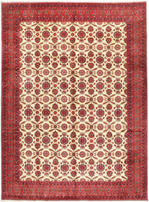 Afghan Khal Mohammadi Teppich 295X395 Echter Orientalischer Handgeknüpfter Dunkelrot/Rost/Rot Großer (Wolle, Afghanistan)