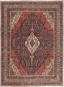 Hamadan Patina Teppich  267X365 Echter Orientalischer Handgeknüpfter Dunkelrot/Dunkelbraun Großer (Wolle, Persien/Iran)