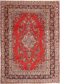 Hamadan Patina Teppich  250X360 Echter Orientalischer Handgeknüpfter Dunkelrot/Rost/Rot Großer (Wolle, Persien/Iran)