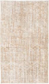 Colored Vintage Teppich 132X226 Echter Moderner Handgeknüpfter Hellgrau/Beige/Weiß/Creme (Wolle, Türkei)