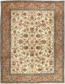 Täbriz Patina Teppich  302X390 Echter Orientalischer Handgeknüpfter Braun/Dunkel Beige Großer (Wolle, Persien/Iran)