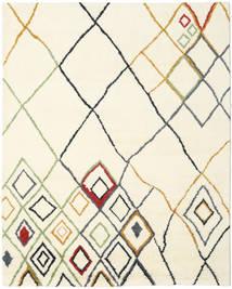Berber Indisch - Off-Weiß/Multi Teppich 240X300 Echter Moderner Handgeknüpfter Beige/Weiß/Creme (Wolle, Indien)