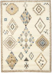 Berber Indisch - Naturweiß/Beige Teppich 160X230 Echter Moderner Handgeknüpfter Beige/Hellbraun (Wolle, Indien)