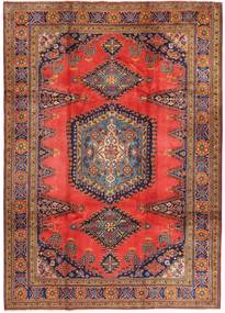 Wiss Teppich 214X336 Echter Orientalischer Handgeknüpfter Dunkelrot/Braun (Wolle, Persien/Iran)