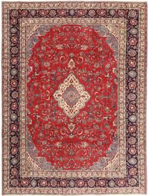 Sarough Patina Teppich  268X360 Echter Orientalischer Handgeknüpfter Dunkelrot/Beige Großer (Wolle, Persien/Iran)