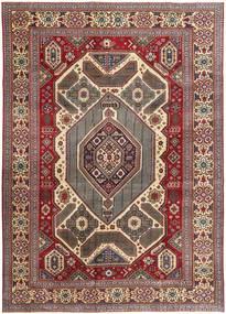 Täbriz Patina Teppich  267X375 Echter Orientalischer Handgeknüpfter Dunkelrot/Dunkelbraun Großer (Wolle, Persien/Iran)