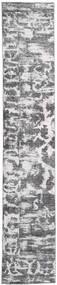 Colored Vintage - Persien/Iran Teppich  65X383 Echter Moderner Handgeknüpfter Läufer Hellgrau/Beige (Wolle, Persien/Iran)