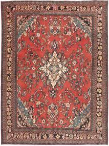 Hamadan Shahrbaf Patina Teppich  266X360 Echter Orientalischer Handgeknüpfter Dunkelrot/Rost/Rot Großer (Wolle, Persien/Iran)