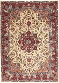 Kashmar Patina Teppich  250X340 Echter Orientalischer Handgeknüpfter Dunkelrot/Beige Großer (Wolle, Persien/Iran)