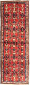 Zanjan Teppich  102X300 Echter Orientalischer Handgeknüpfter Läufer Dunkelrot/Dunkelbraun (Wolle, Persien/Iran)