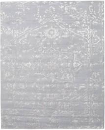 Orient Express - Grau Teppich  240X300 Echter Moderner Handgeknüpfter Hellgrau (Wolle/Bambus-Seide, Indien)