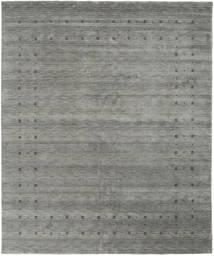 Loribaf Loom Delta - Grau Teppich  240X290 Moderner Dunkelgrau (Wolle, Indien)