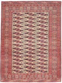 Turkaman Patina Teppich 131X177 Echter Orientalischer Handgeknüpfter Dunkelrot/Braun (Wolle, Persien/Iran)
