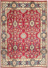 Kerman Teppich  208X296 Echter Orientalischer Handgeknüpfter Rot/Dunkelgrau (Wolle, Persien/Iran)