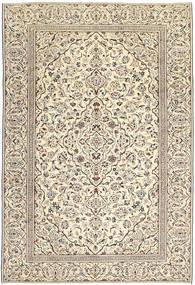 Keshan Patina Teppich  229X333 Echter Orientalischer Handgeknüpfter Hellgrau/Dunkel Beige (Wolle, Persien/Iran)