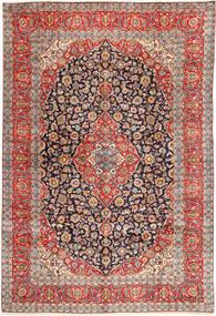 Keshan Teppich  295X432 Echter Orientalischer Handgeknüpfter Hellbraun/Rost/Rot Großer (Wolle, Persien/Iran)