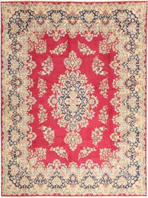 Kerman Teppich  292X400 Echter Orientalischer Handgeknüpfter Rost/Rot/Dunkel Beige Großer (Wolle, Persien/Iran)