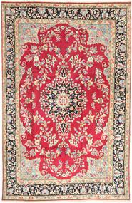 Kerman Teppich  198X310 Echter Orientalischer Handgeknüpfter Rost/Rot/Beige (Wolle, Persien/Iran)