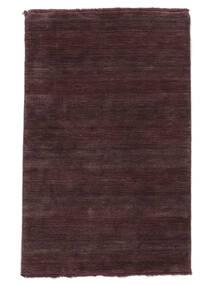 Handloom Fringes - Weinrot Teppich  160X230 Moderner Dunkellila/Dunkelbraun (Wolle, Indien)