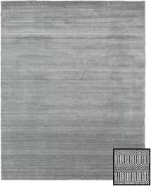 Bambus Grass - Black_ Grau Teppich  190X240 Moderner Hellgrau/Dunkelgrau/Türkisblau (Wolle/Bambus-Seide, Türkei)