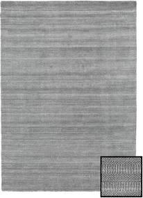 Bambus Grass - Black_ Grau Teppich  160X230 Moderner Hellgrau/Dunkelgrau (Wolle/Bambus-Seide, Türkei)