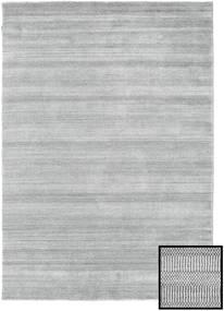 Bambus Grass - Grau Teppich  160X230 Moderner Hellgrau (Wolle/Bambus-Seide, Türkei)