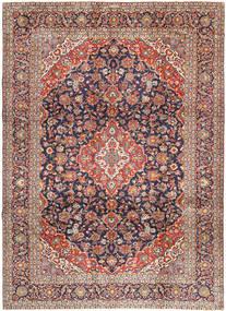 Keshas Signatur: Aryai Teppich  274X368 Echter Orientalischer Handgeknüpfter Dunkelrot/Schwartz Großer (Wolle, Persien/Iran)