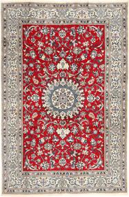 Nain Teppich  196X297 Echter Orientalischer Handgeknüpfter Hellgrau/Braun (Wolle, Persien/Iran)