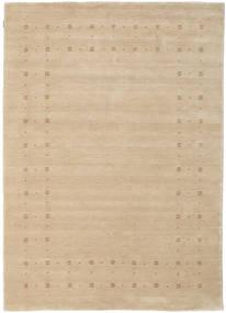 Loribaf Loom Delta - Beige Teppich 160X230 Moderner Beige/Dunkel Beige (Wolle, Indien)