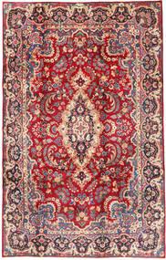Yazd Teppich  200X305 Echter Orientalischer Handgeknüpfter Rot/Rost/Rot (Wolle, Persien/Iran)