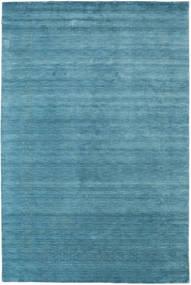 Loribaf Loom Beta - Hellblau Teppich 290X390 Moderner Blau/Türkisblau Großer (Wolle, Indien)