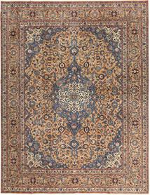 Keshan Patina Teppich  292X385 Echter Orientalischer Handgeknüpfter Dunkelbraun/Dunkelrot Großer (Wolle, Persien/Iran)